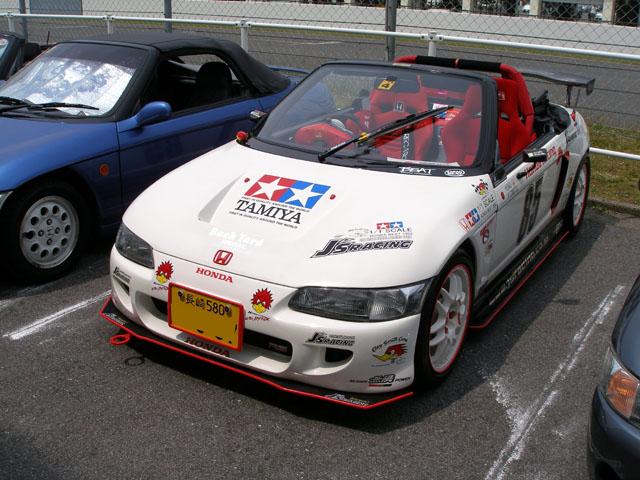 �@Kenビー �Aクレイスミス号 �B見かけだけじゃなく 本当に速い車ですが 運転技術がトホホ・・・ �C2回目 �Dサガンビートクラブ