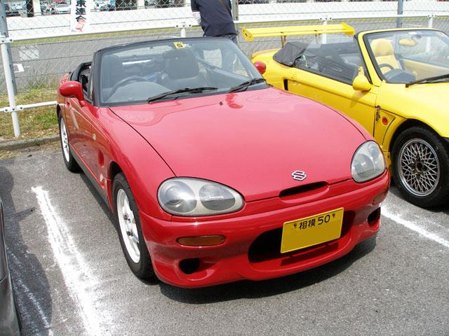 �@ちぃ �Aカプ子さん �B2007年OCでGJの フロントバンパーが当たった! �C初参加 �D神奈川組