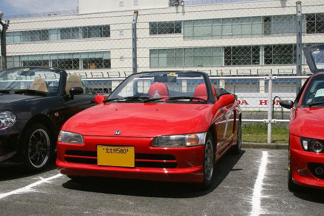 �@きたこー �A赤ぴっぴ �Bレーシングハマーのフルエアロ HID、キーレス、S2000 アンテナ �C初参加