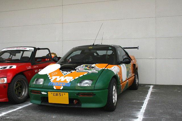 �@ポルコ �ATWRリサイクル号 �B5万円の廃車から見事復活のリサイクル車 これぞエコカーです。 �C皆勤